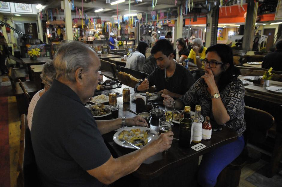"""Mucho ritual para comer en Río. Los aperitivos, entradas, plato fuerte, postre y """"cafezinho"""". (Foto: Pedro Pablo Mijangos/Soy502)"""