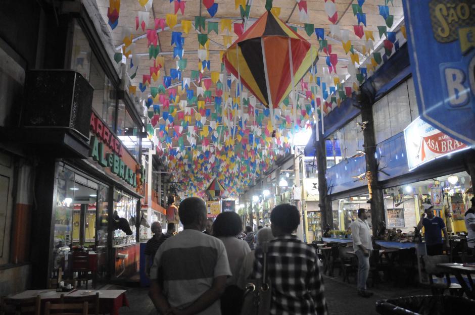 """Parte de las entradas coloridas a """"Feira"""" de San Cristóbal. (Foto: Pedro Pablo Mijangos/Soy502)"""