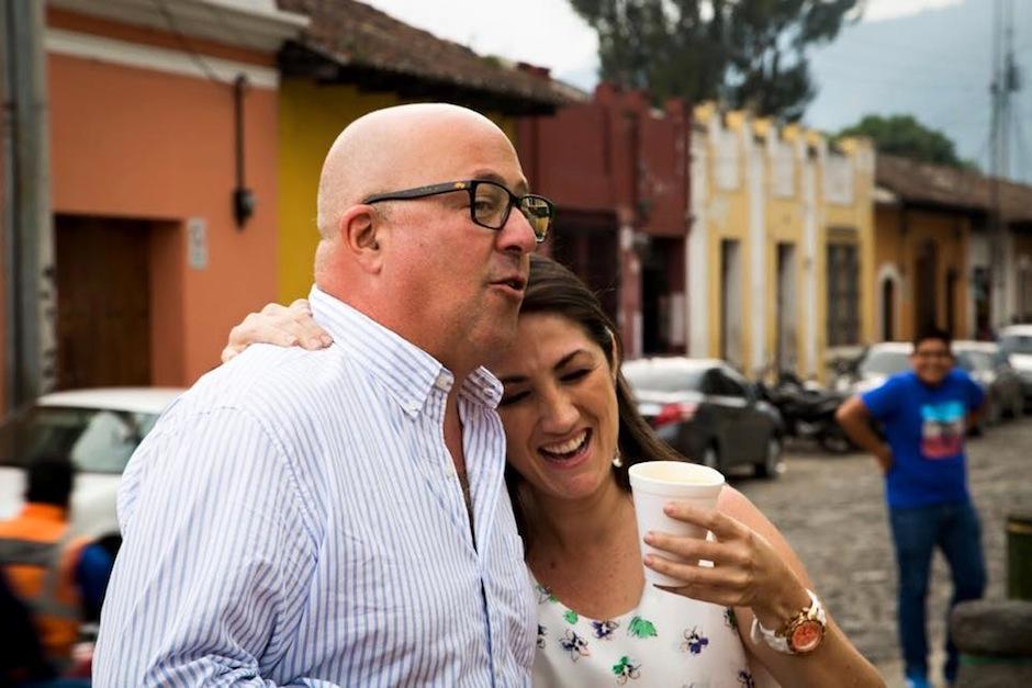 La estadía de Andrew Zimmern en Guatemala fue muy divertida. (Foto: Mirciny Moliviatis oficial)