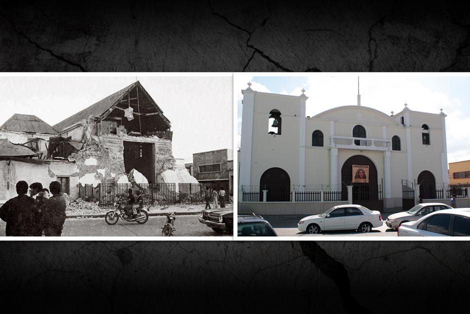 La iglesia de San José en la zona 1. (Fotos: Nuestro Diario)