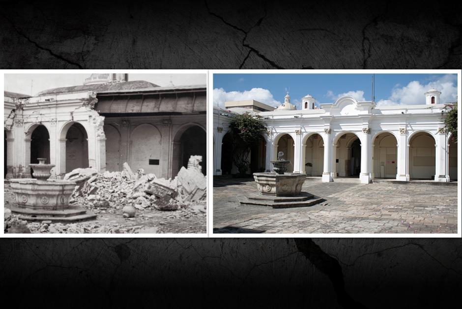 """El edificio de """"Musac"""" también fue reconstruido"""