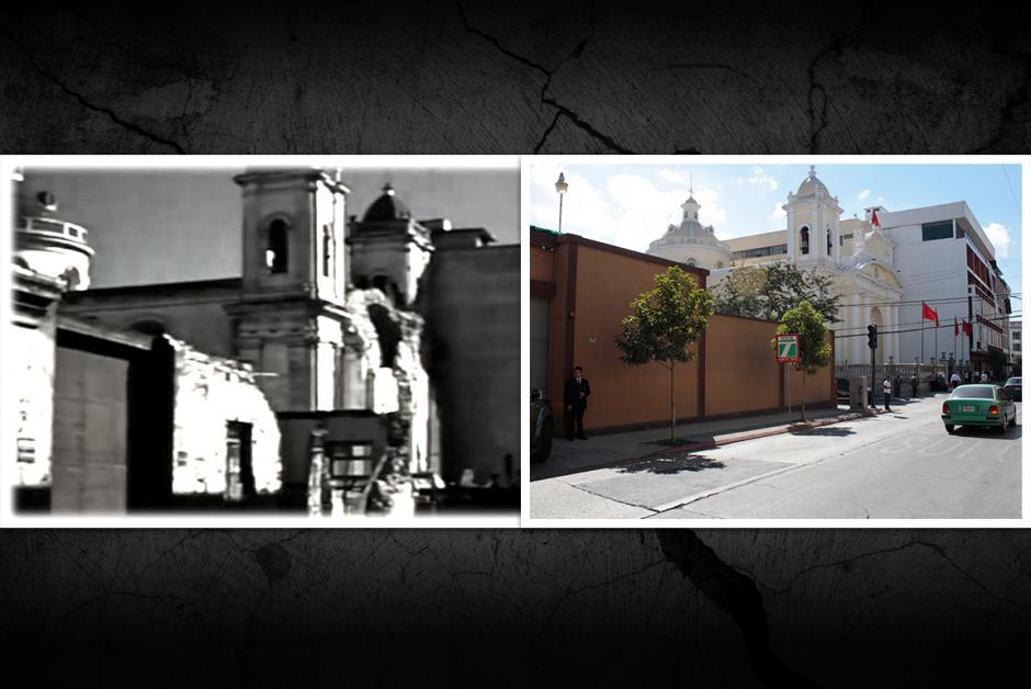 La iglesia El Carmen en la décima calle y octava avenida en la zona 1