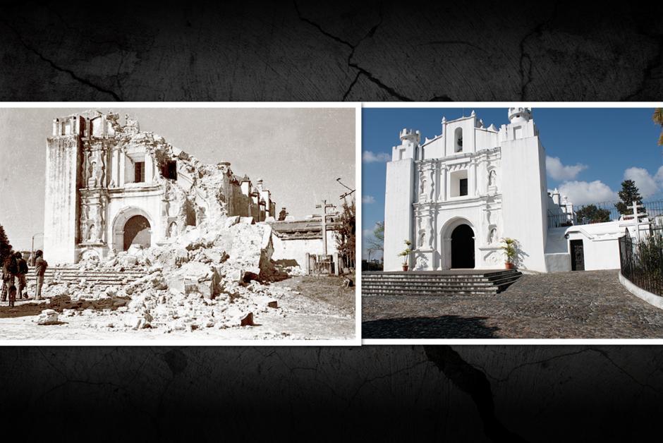 La Ermita del Carmen en el cerro del mismo nombre, fue destruida casi a totalidad. (Fotos: Nuestro Diario)