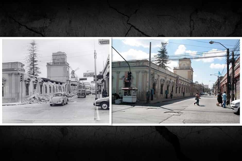 El Instituto Nacional Central para Varones también sufrió daños por el terremoto. (Fotos: Nuestro Diario)