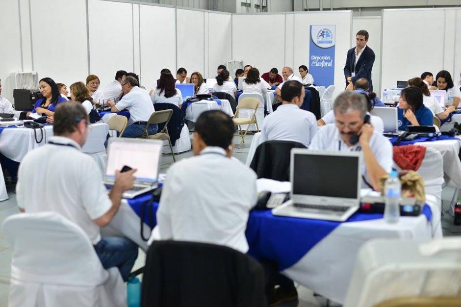 La Dirección Electoral del Tribunal Supremo Electoral (TSE) se mantiene alerta ante reporte de logística de elecciones. (Foto: Wilder López/Soy502)