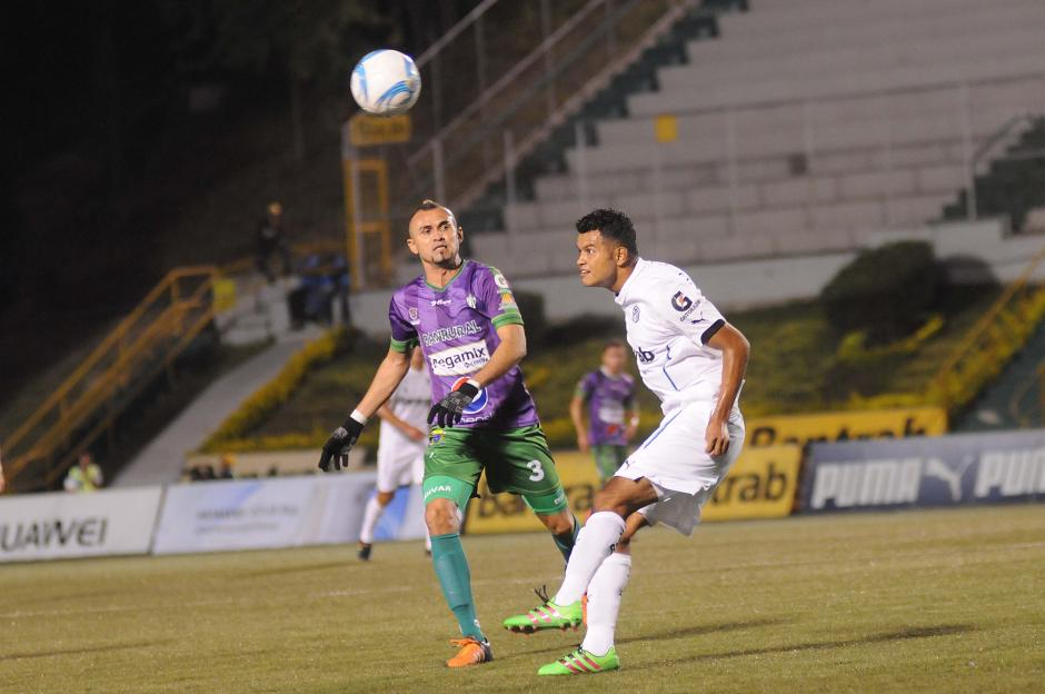 El gol que pone a Comunicaciones a un paso se dio a los 82 minutos. (Foto: Orlando Chile/Nuestro Diario)