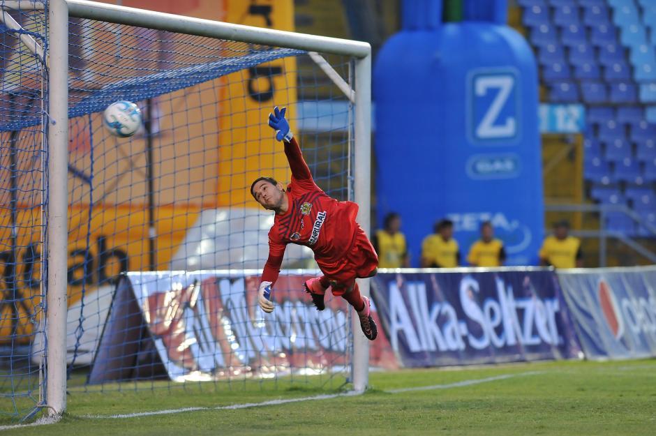 El mexicano David Izazola abrió el marcador. (Sergio Muñoz/Nuestro Diario)