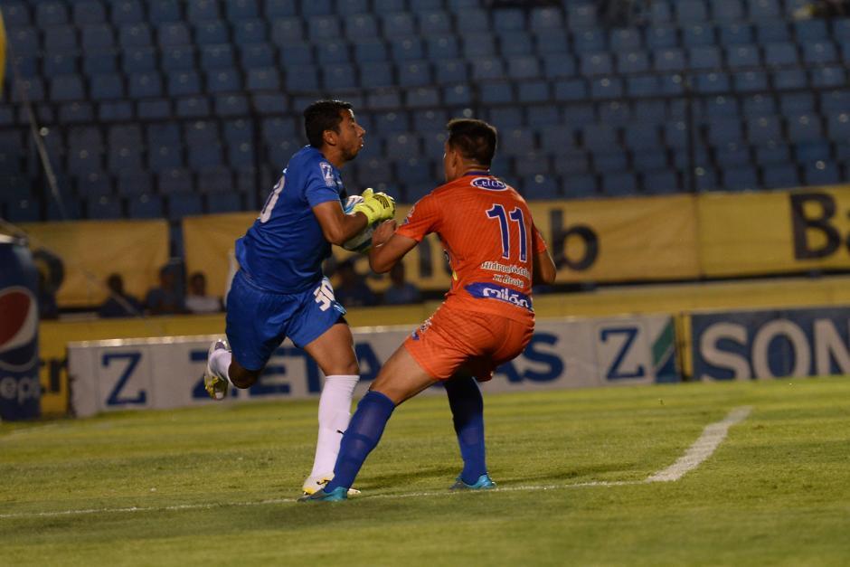 Suchitepéquez sacó un empate valioso en la final de ida. (Foto: Sergio Muñoz/Nuestro Diario)