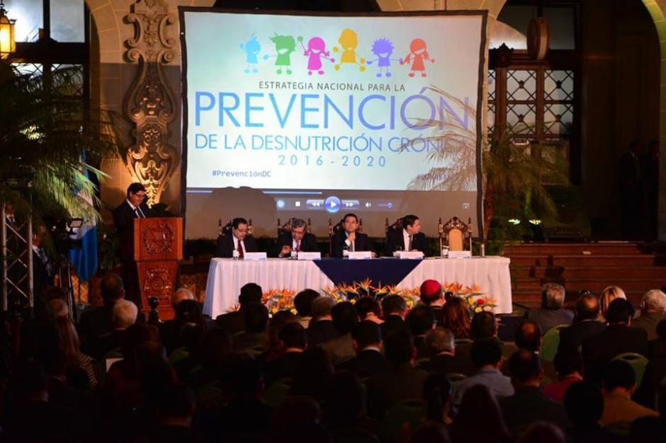 Durante el evento presentaron video para reflejar problemática.  (Foto: Jesús Alfonso/Soy502)