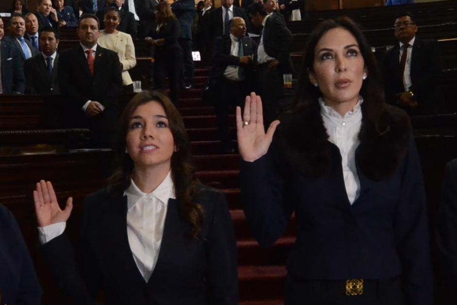 Melanie Müller y Elizabeth Paz estarán al frente de Conamigua. (Foto: cortesía José Castro)