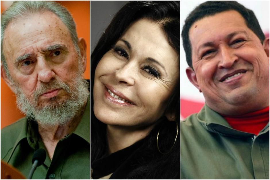 María Conchita Alonso dijo que Chávez y Castro por fin se reunirán en el infierno. (Foto: Archivo)