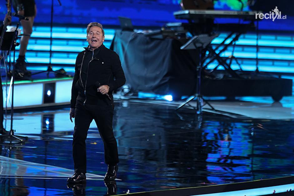 Ricardo Montaner interpretó varias de sus canciones famosas. (Foto: recital.cl)