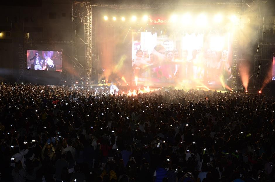Al concierto asistieron unas 4 mil personas. (Foto: Abner Salguero/Nuestro Diario)