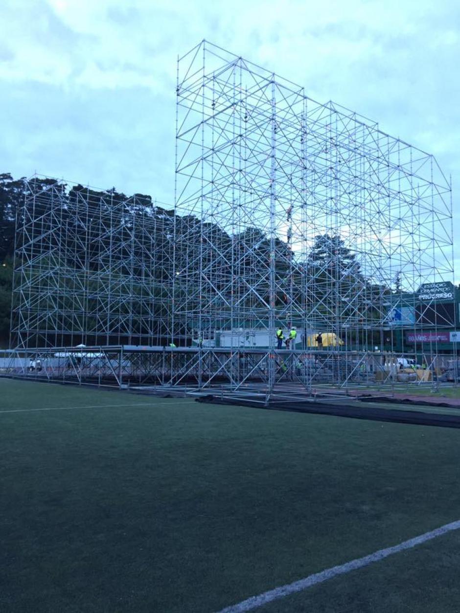 El uso compartido se debe al poco tiempo entre una y otra actividad. (Foto: Facebook/SD Concerts Guatemala )
