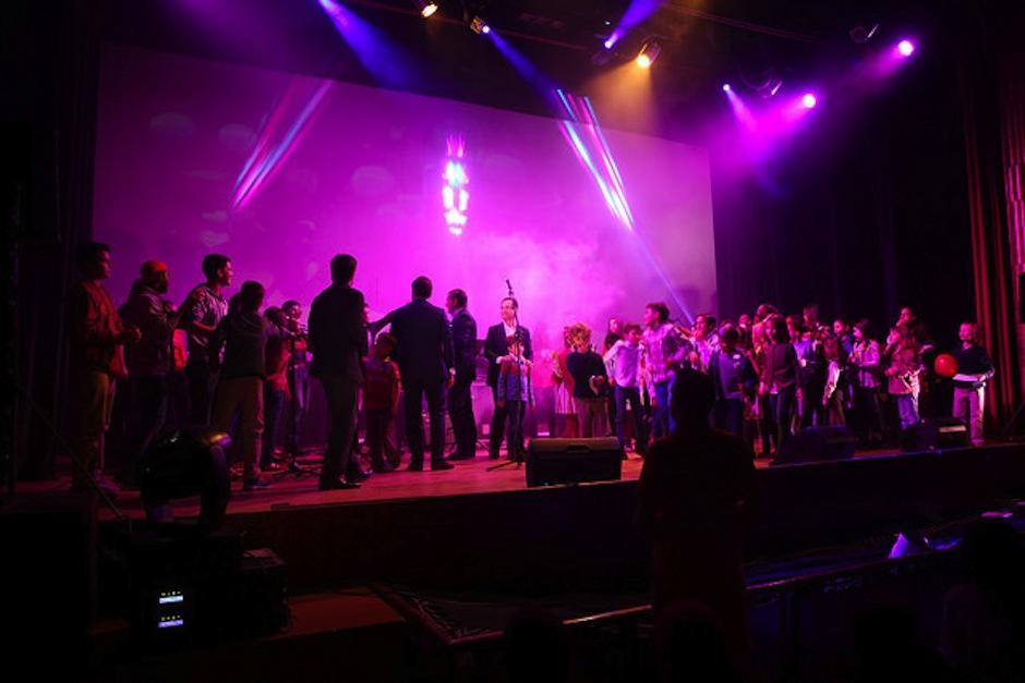 Este es el segundo año del concurso de Canciones por la VIda. (Foto: DAV)