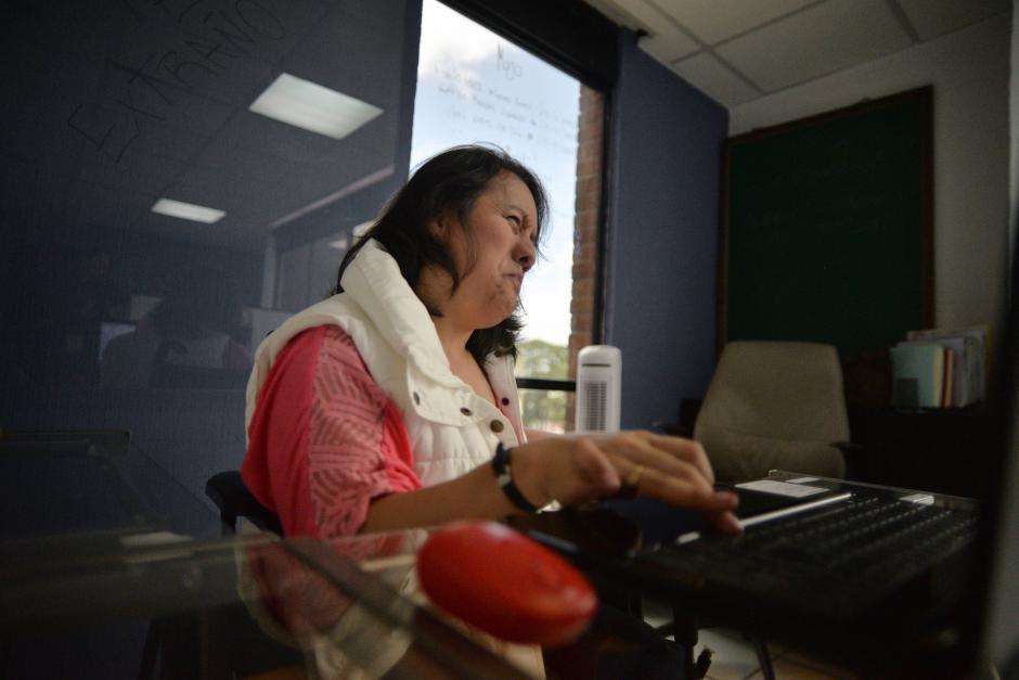 Cori es licenciada en Administración de Recursos Humanos y estudia una maestría de Gestión Humana. (Foto: Wilder López/Soy502)