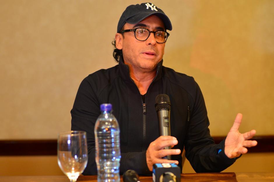 Este jueves se realizará la presentación de Adal Ramones en Guatemala. (Foto: Jesús Alfonso/Soy502)