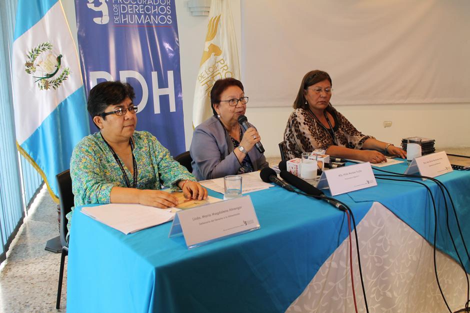 La PDH trasladará el informe de incumplimiento de la orden de juez al MP. (Foto PDH)