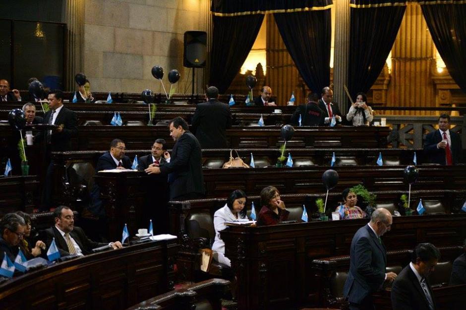 Los diputados conocieron en primera lectural reformas a Ley de Orden Público. (Foto: Wilder López/Soy502)