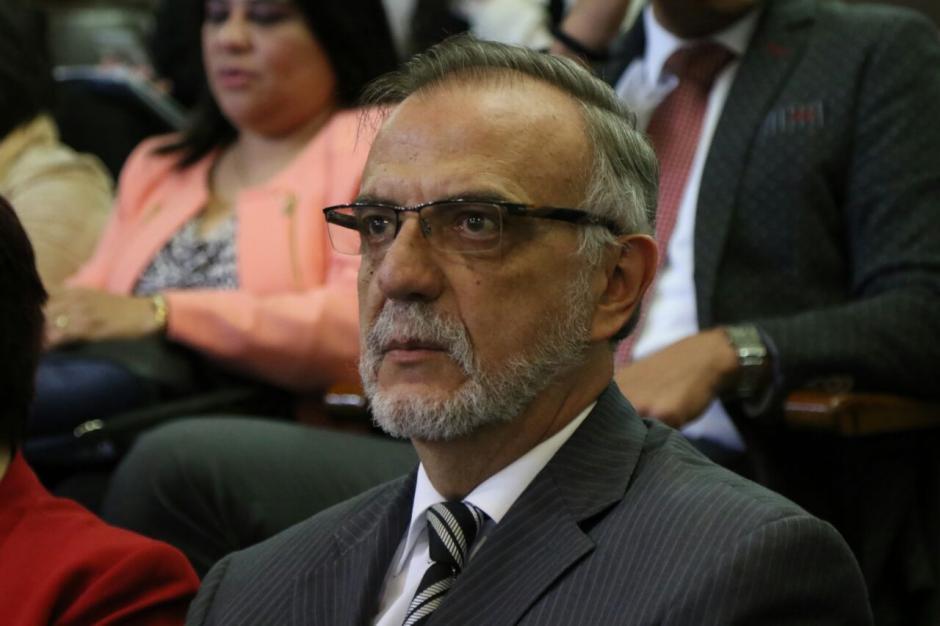 El Comisionado de la CICIG, Iván Velásquez asiste a sesión en el Congreso de la República.  (Foto: Alejandro Balán/Soy502)