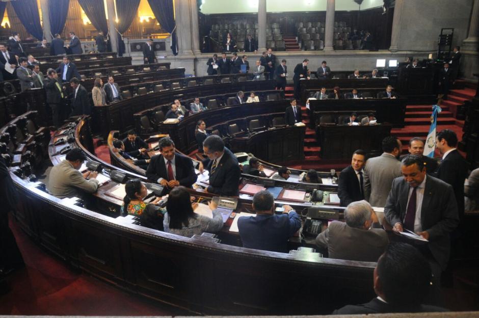 Antes de conocerse esto, en la sesión también se conocieron otras iniciativas de Ley. (Foto: Alejandro Balan/Soy502)