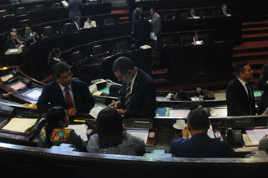 Aprobaron la Ley del Servicio Civil en su tercer debate. (Foto: Alejandro Balan/Soy502)