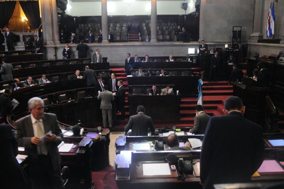 Los diputados se reunieron este martes en sesión plenaria. (Foto: Alejandro Balan/Soy502)