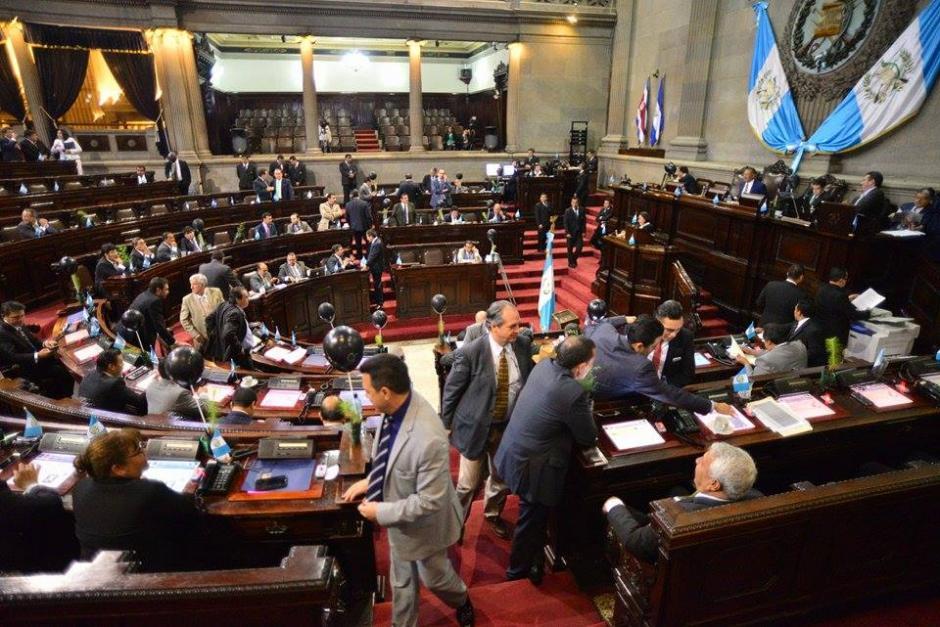 El Congreso de la República sesionó este martes para avanzar en agenda. (Foto: Wilder López/Soy502)