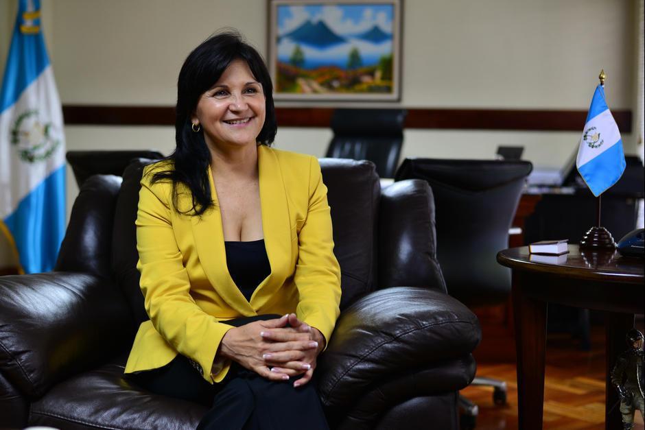 Gloria Porras fue electa por el Congreso de la República. (Foto: Archivo/Soy502)