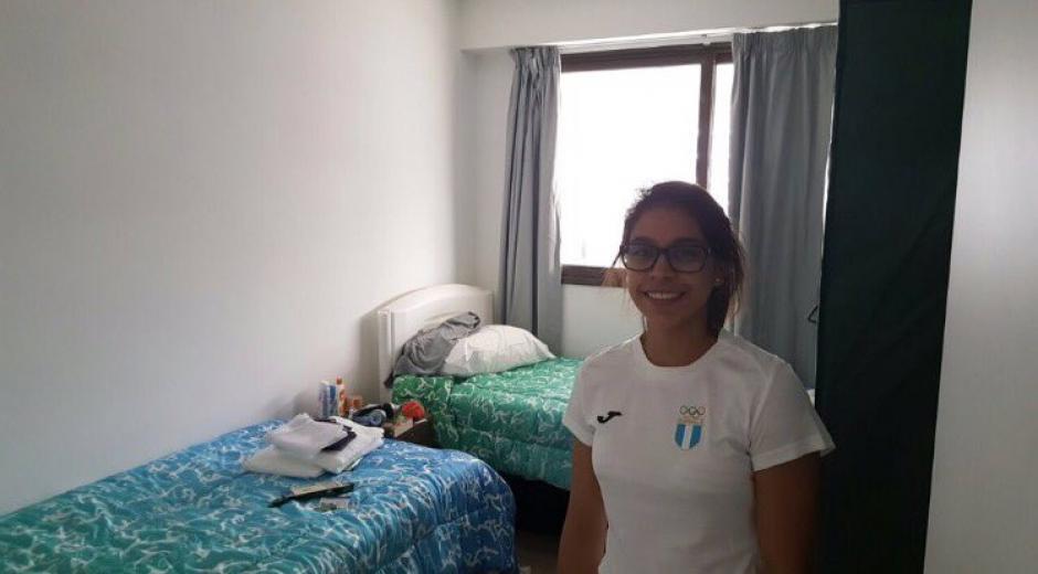 La gimnasta Ana Sofía Gómez fue una de las primeras en llegar a Río. (Foto: COG)