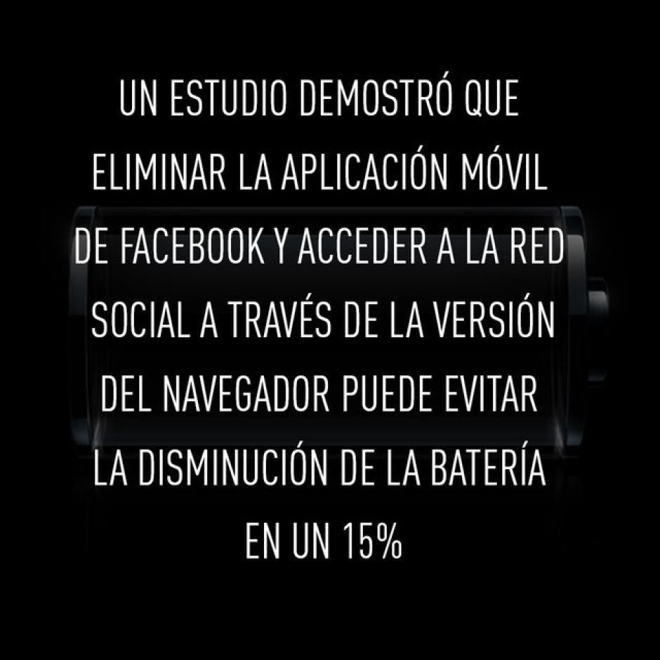 El uso excesivo de la aplicación de Facebook. (Foto: RT)