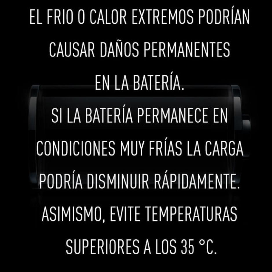 Exponer el dispositivo móvil a temperaturas extremas.(Foto: RT)