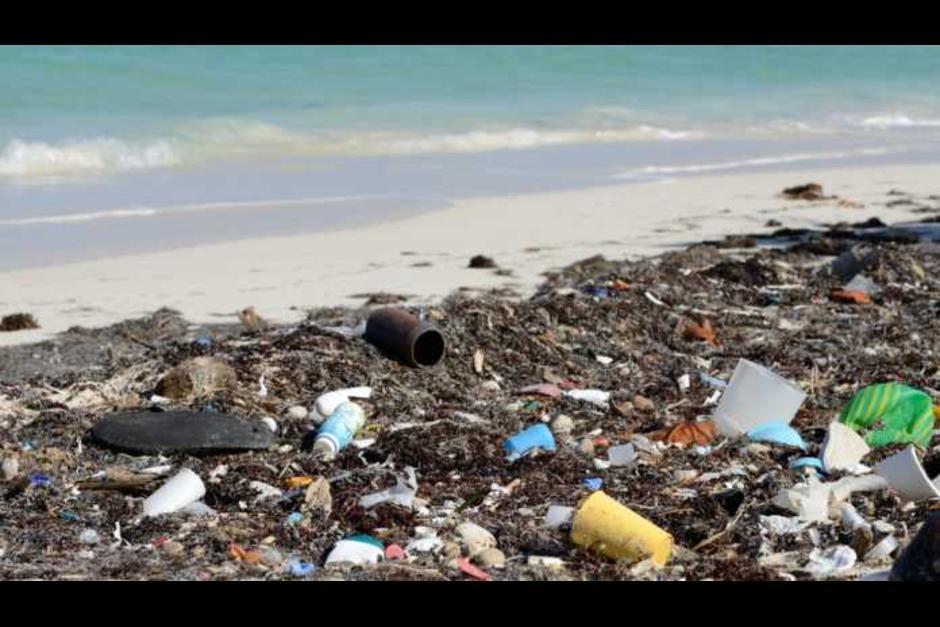 Las playas hondureñas se han visto afectadas por los desechos. (Foto: Tiempo Digital)