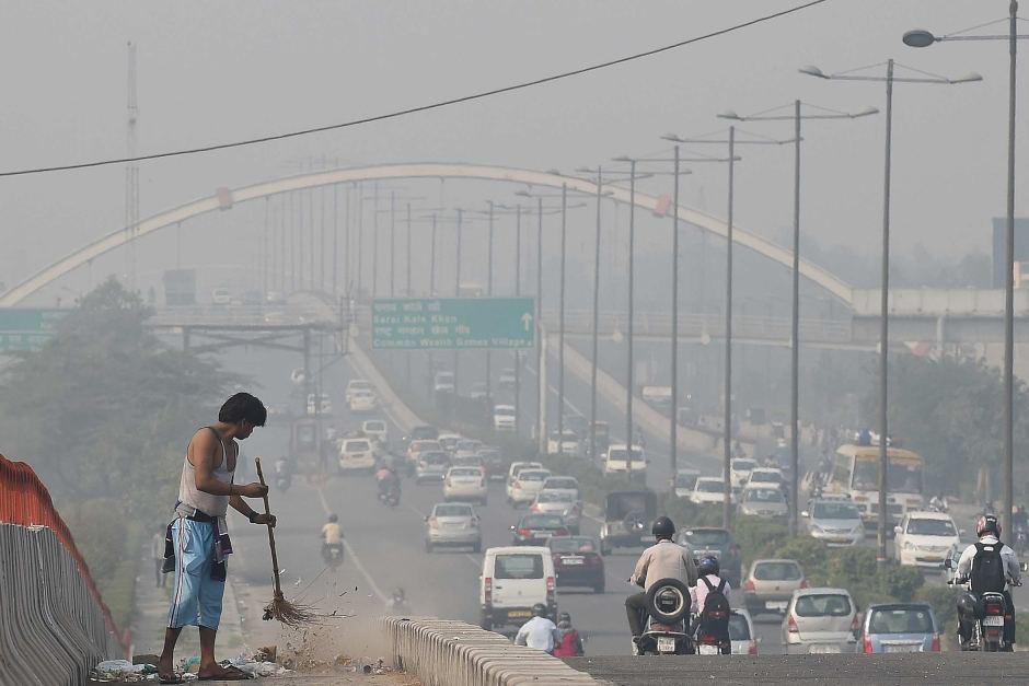 La contaminación empeoró en los últimos días. (Foto: AFP)