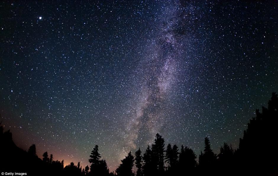 La vía láctea se puede contemplar cuando no hay contaminación de luz. (Foto: Getty Images)