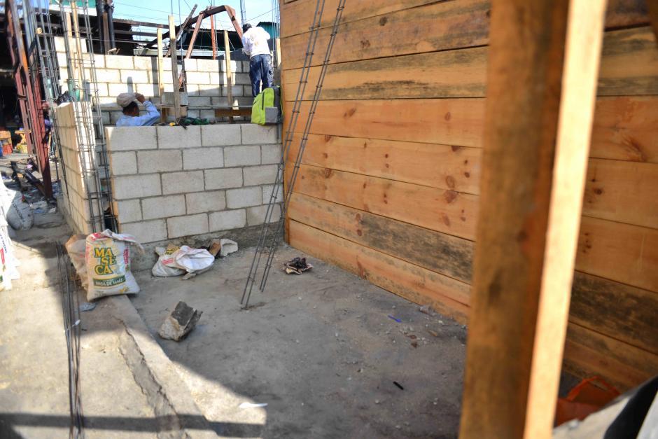 La casa donde fallecieron las menores ya está lista para ser reconstruida. (Foto: Jesús Alfonso/Soy502)