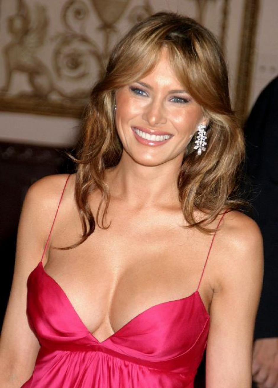 La esposa de Donald Trump salió desnuda en una sesión de fotos de 1995. (Foto: contrainjerencia.com)