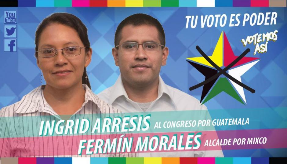 Convergencia propone la unidad de las comunidades por medio de su candidato Fermín Morales. (Foto: Facebook Convergencia Mixco)