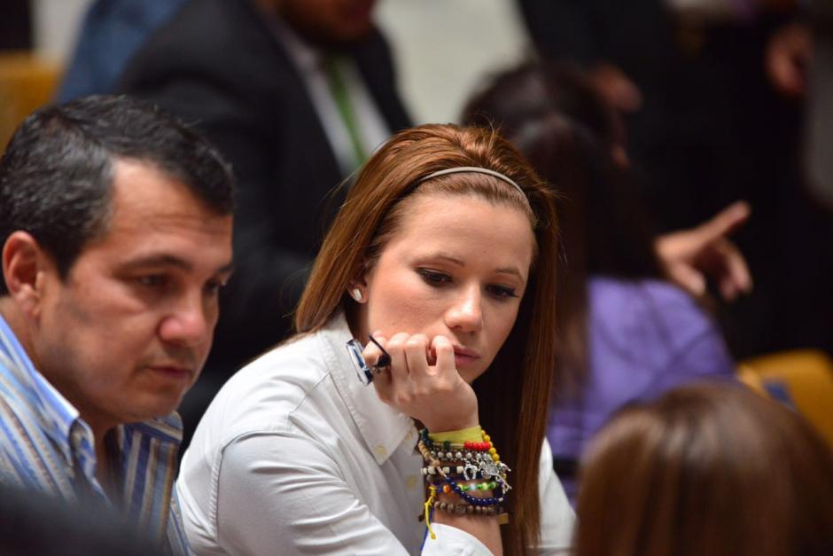 Daniela Beltranena fue la mano derecha de Roxana Baldetti. (Foto: Jesús Alfonso/Soy502)