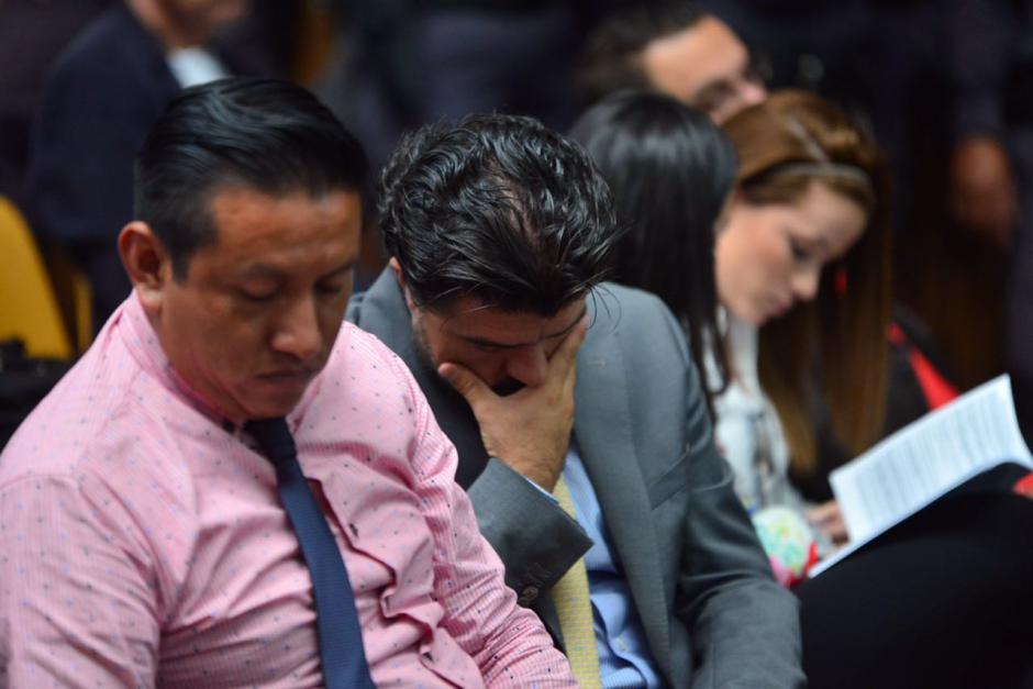 Chévez se mostró preocupado en la audiencia. (Foto: Jesús Alfonso/Soy502)