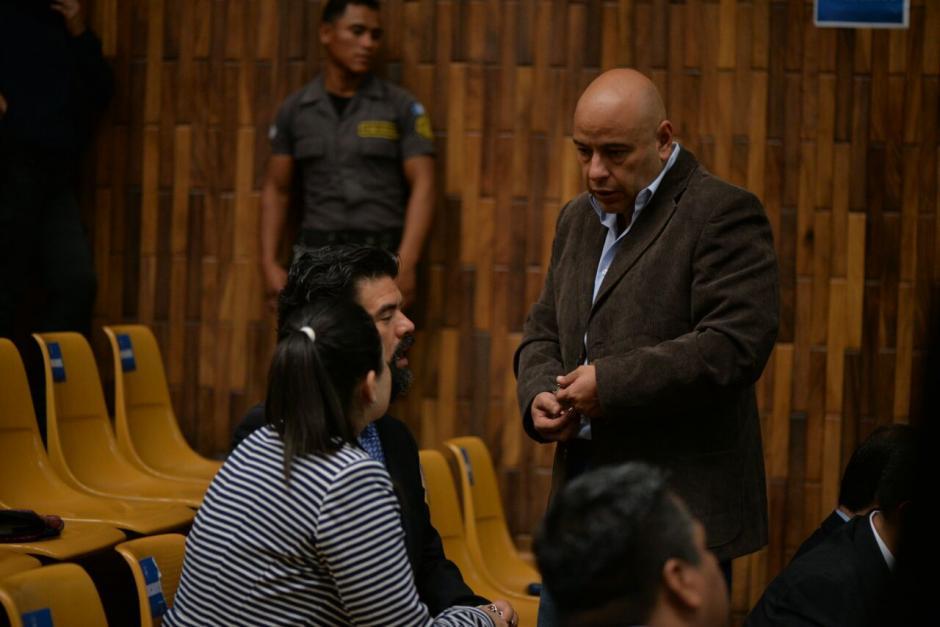 Se espera que el juez Gálvez llame uno a uno a los sindicados para informarles si serán ligados a proceso. (Foto: Wilder López/Soy502)