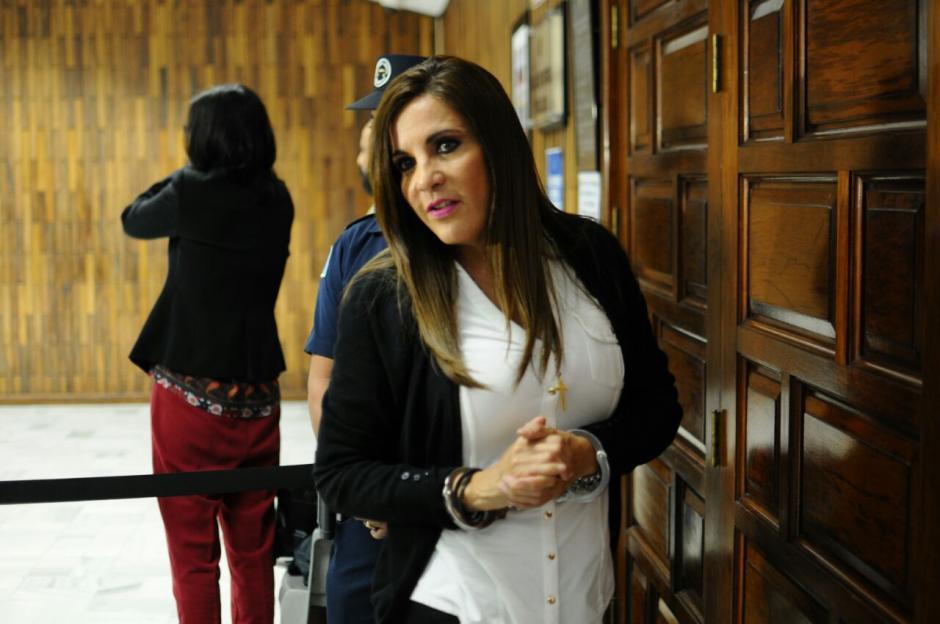 La exgerente de Blue Oil, Ana Graciela López, fue ligada a proceso por financiamiento electoral ilícito. (Foto: Alejandro Balán/Soy502)