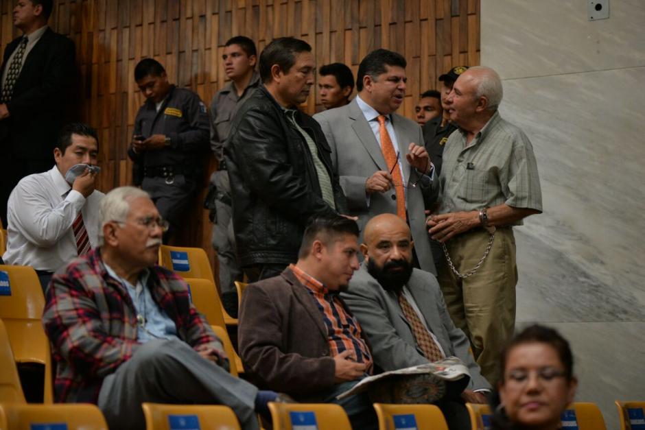 Los implicados en el caso Cooptación del Estado se mostraron preocupados ante la resolución del juez Gálvez. (Foto: Wilder López/Soy502)