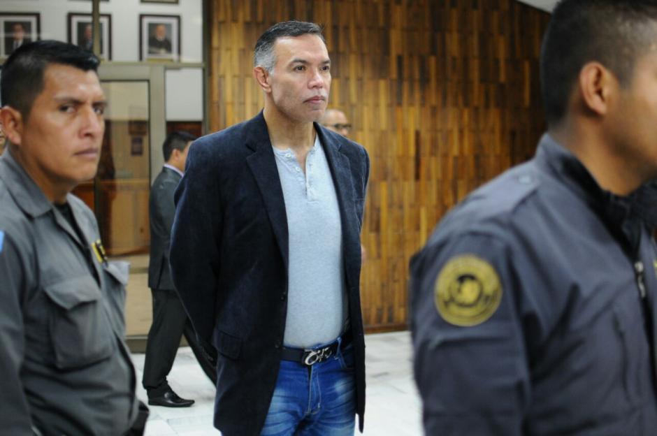 El expresidente del IGSS, Juan de Dios Rodríguez, fue ligado a proceso en el caso #CooptacióndelEstado.   (Foto: Alejandro Balán/Soy502)