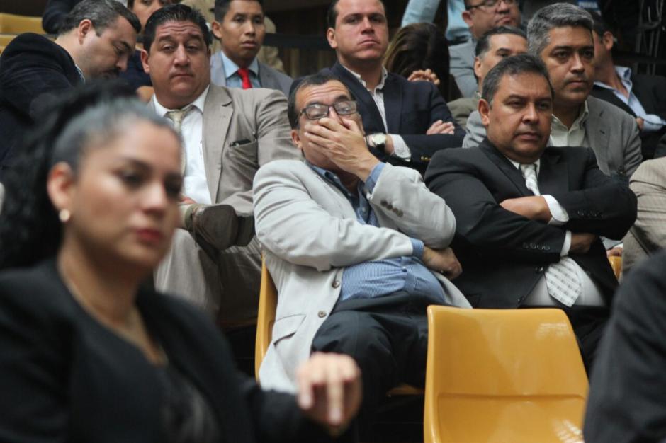 La mayoría de los sindicados en #CooptacióndelEstado fueron ligados a proceso.  (Foto: Alejandro Balán/Soy502)