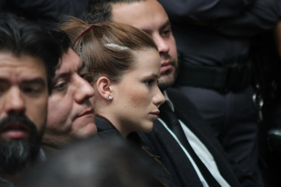 La exdiputada Daniela Beltranena fue ligada a proceso y enviada a prisión. (Foto: Alejandro Balán/Soy502)