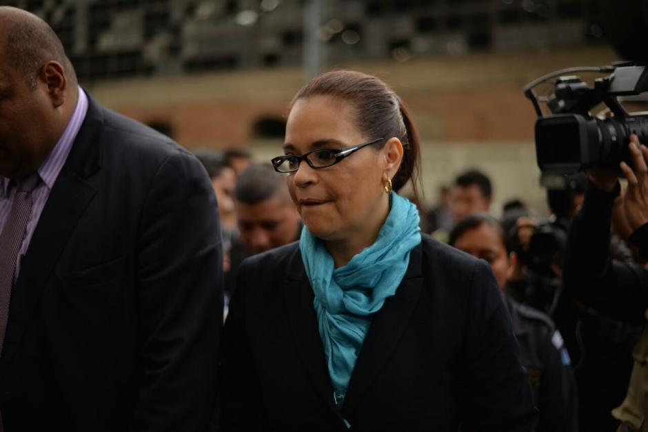 Baldetti es una de las más de 50 personas que fueron sindicadas en el caso Cooptación del Estado. (Foto: Wilder López/Soy502)