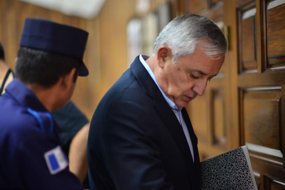 El expresidente Otto Pérez Molina podría ser ligado a proceso por un nuevo caso de corrupción. (Foto: Jesús Alfonso/Soy502)