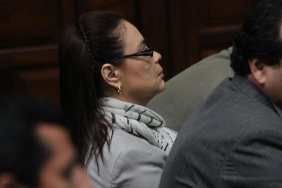 La exvicepresidenta Roxana Baldetti fue ligada a proceso en el caso #CooptacióndelEstado. (Foto: Alejandro Balán/Soy502)