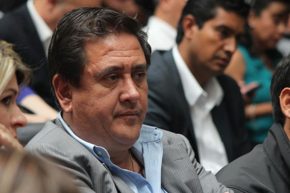 El exsecretario de la Presidencia, Gustavo Adolfo Alejos, fue ligado a proceso por financiamiento electoral ilícito.  (Foto: Alejandro Balán/Soy502)